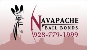 Arizona Bail Bonds posted by Navapache Bail Bonds - 928-779-1999