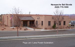 Page Arizona Jail, Lake Powel Substation Coconino County - Navapache Bail Bonds